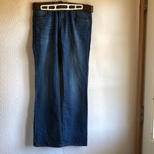 Dollhouse Belted Dark Wash Sasha Jeans